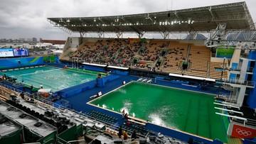 10-08-2016 22:30 Rio: wiadomo dlaczego woda w basenie zzieleniała