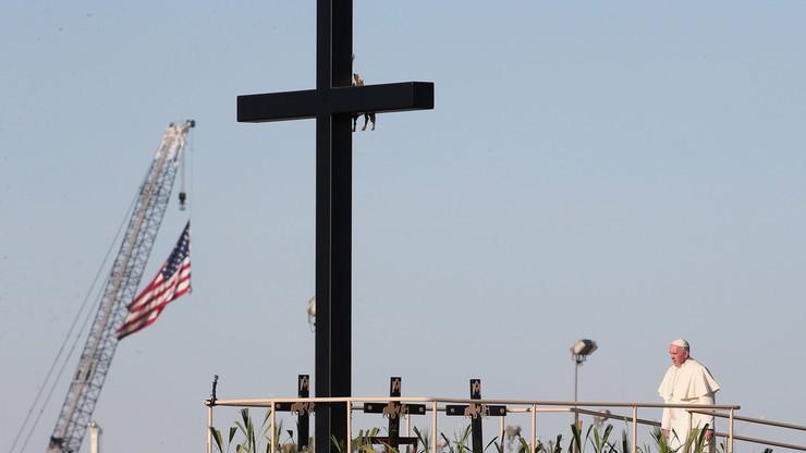 """Meksyk: Papieska msza na granicy. """"To droga pełna strasznych niesprawiedliwości"""""""