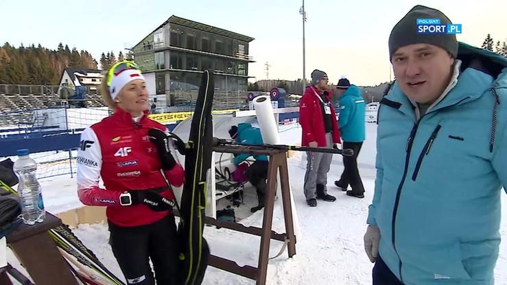 Jak wygląda strzelanie w biathlonie? Prezentuje Weronika Nowakowska! (WIDEO)
