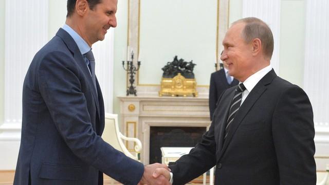 Putin chce godzić Asada z opozycją