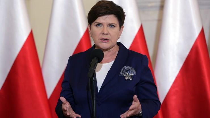 Szydło: byłoby dobrze, żeby PO rozliczyła się z tego, co działo się w Warszawie