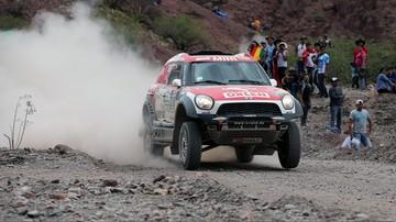 2017-01-06 Rajd Dakar: Przygoński szósty po czterech etapach, awans Sonika