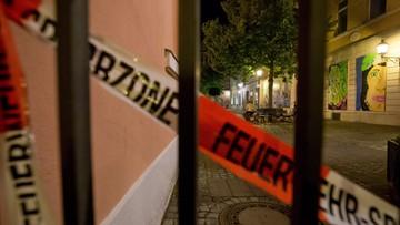 25-07-2016 05:23 Eksplozja w restauracji w Ansbach. 12 rannych, nie żyje zamachowiec