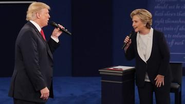 """10-10-2016 07:53 """"Nikt nie szanuje kobiet bardziej niż ja"""" - Trump podczas drugiej debaty prezydenckiej z Clinton"""