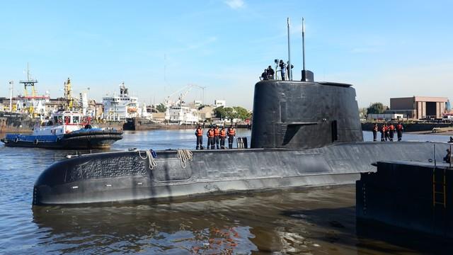 Argentyna: Na zaginionym okręcie podwodnym był wcześniej przeciek wody
