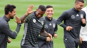2016-06-09 Niemcy - Ukraina: Podolski już trenuje z zespołem, Hummels wciąż indywidualnie