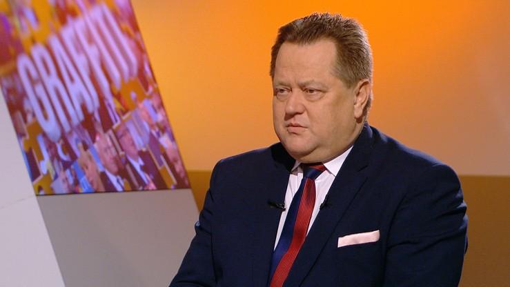 """""""To sprawa odpowiedzialności Izraela"""". Zieliński o kolizji z udziałem polskiej delegacji"""