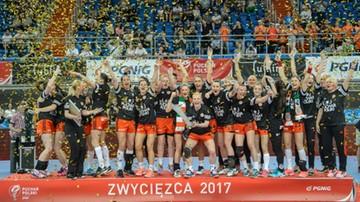 2017-05-20 Piłkarki ręczne Zagłębia Lubin z Pucharem Polski!