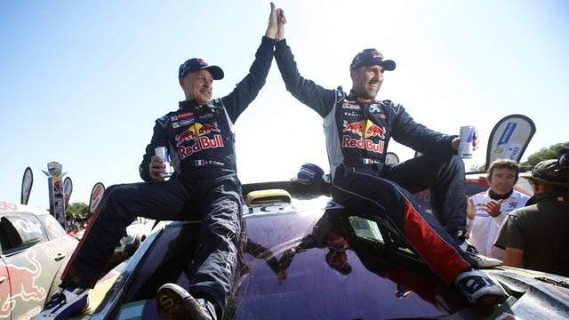 Rajd Dakar - 12. zwycięstwo Peterhansela, Przygoński 15.