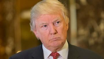 """11-01-2017 05:50 Trump ponownie o """"politycznym polowaniu na czarownice"""""""
