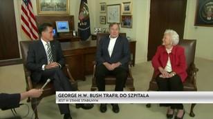 George Bush senior trafił do szpitala. Jest w stanie stabilnym