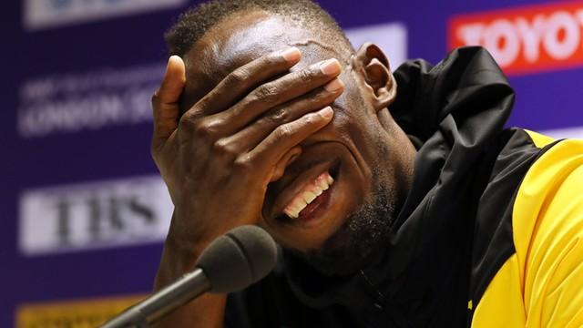 Bolt kontuzjowany, bo  za dużo imprezował? Przed biegiem bawił się do rana