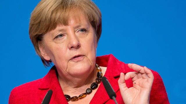 Podejrzana przesyłka w biurze kanclerz Niemiec