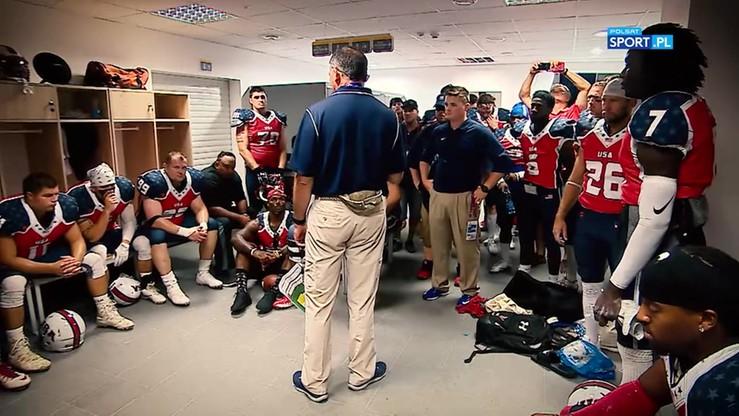2017-07-24 Szatnie futbolistów Polski i USA przed meczem o brąz