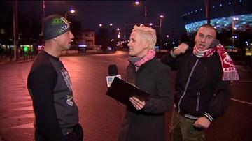 Incydent przed kamerą Polsat News w trakcie Marszu Niepodległości