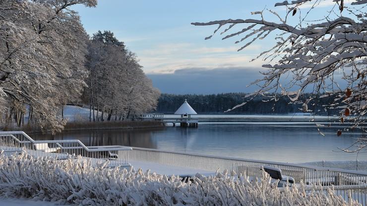 2016-12-02 Zimowy poranek nad jeziorem Pluszne