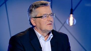 14-09-2016 16:49 Sąd Najwyższy uniewinnił Bronisława Komorowskiego po 36 latach