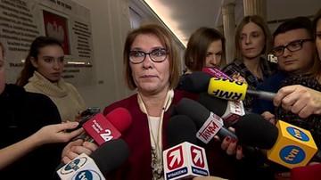 Rzeczniczka PiS zamierza wystąpić do marszałka Sejmu o monitoring biur posłów