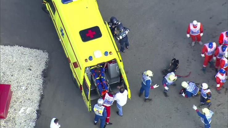 GP Rosji: Wypadek Carlosa Sainza podczas sesji treningowej