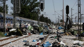 26-05-2016 17:28 Grecja: zakończono ewakuację migrantów z obozu w Idomeni