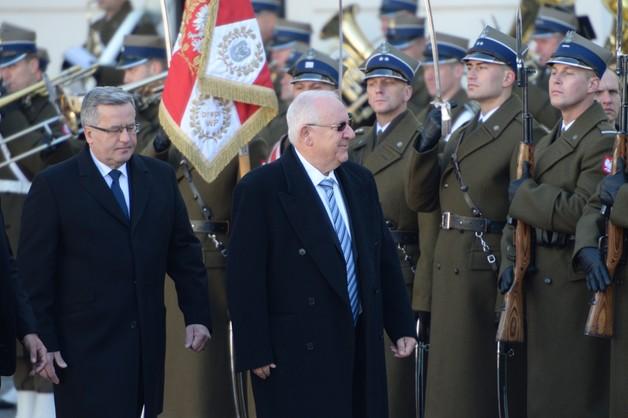 Prezydent Izraela z oficjalną wizytą w Polsce - otworzy muzeum