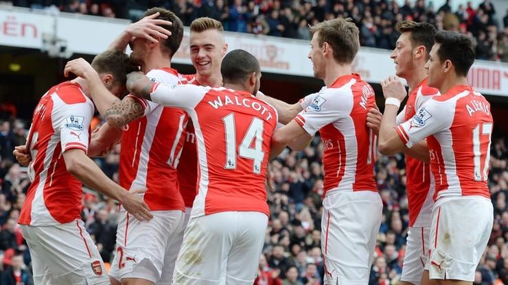 Arsenal nie chce przestać wygrywać