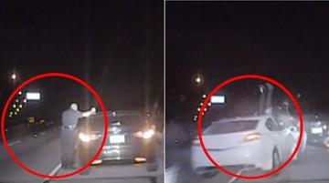 Pijany kierowca z pełnym impetem wjechał w policjanta. Groźny wypadek w Teksasie