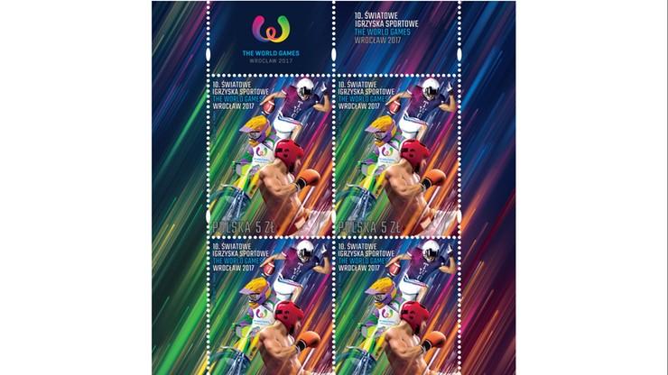 The World Games: Wyemitowano znaczek pocztowy upamiętniający igrzyska