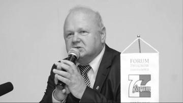 Nie żyje Tadeusz Chwałka, działacz związkowy i członek Rady Dialogu Społecznego