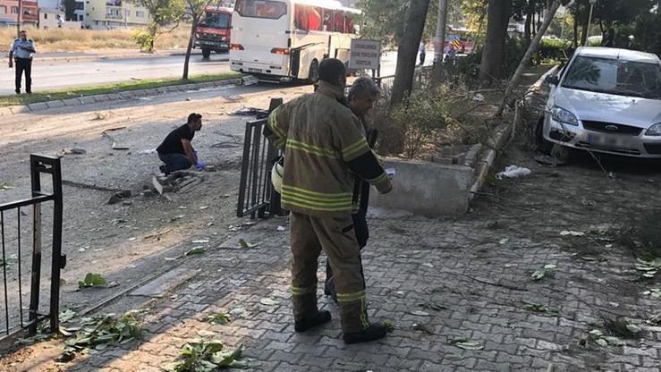 Siedem osób rannych w wybuchu bomby w tureckim Izmirze