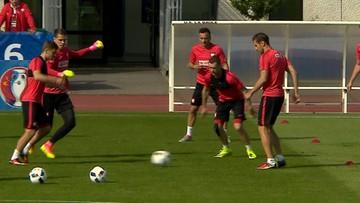 08-06-2016 20:29 Euro 2016 – Polacy ćwiczyli w niepełnym składzie