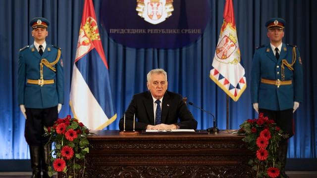 Serbia: prezydent rozwiązał parlament
