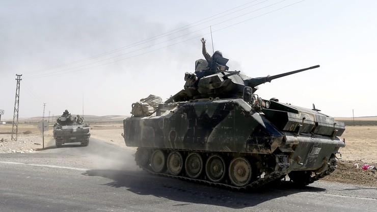 """Turcja """"nie akceptuje"""" rozejmu z Kurdami w Syrii"""