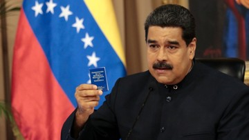 20-07-2017 19:22 24-godzinny strajk obywatelski w Wenezueli przeciw prezydentowi Maduro