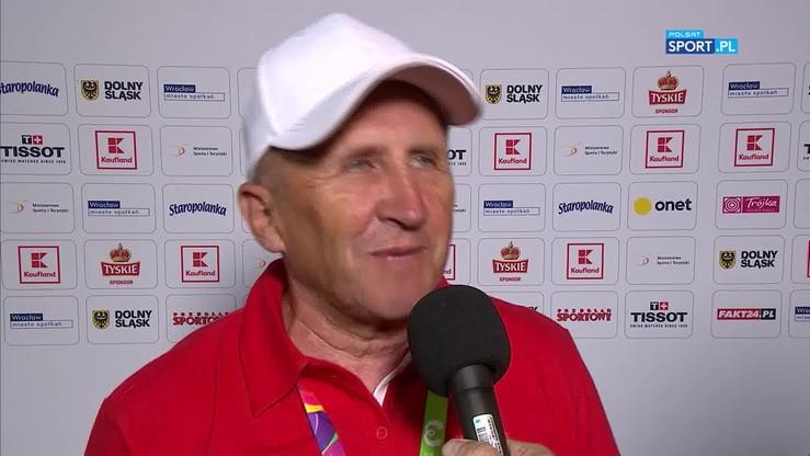 Trener Cieślak dumny po złocie dla polskich żuzlowców