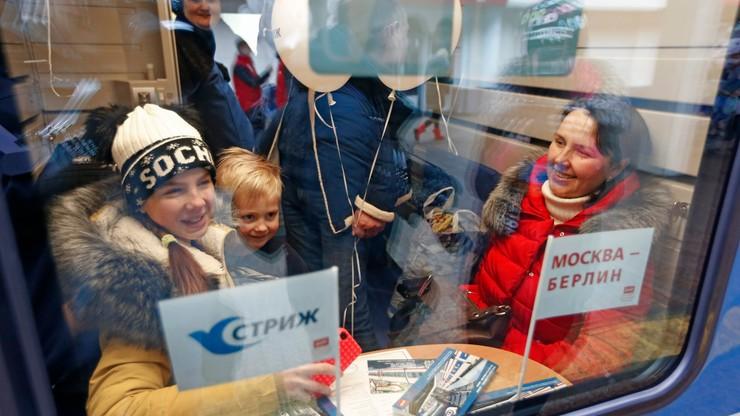 Nowy pociąg relacji Moskwa-Berlin pojedzie szybciej