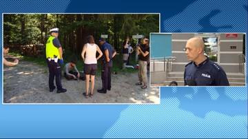 Policja zbiera dowody w sprawie pobicia operatora Polsat News