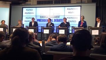 6 z 7 kandydatów na szefa PE za sankcjami przeciwko Polsce