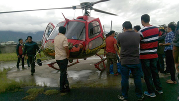 08-08-2016 13:59 Katastrofa śmigłowca w Nepalu. Zginęło 7 osób