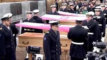 Uroczystości pogrzebowe Trzech Komandorów. Komuniści bali się ich także po ich śmierci