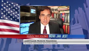Mariusz Max Kolonko - Wojna o pomniki w Nowym Jorku