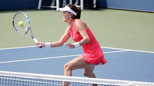 US Open - A. Radwańska wyeliminowała Linette w drugiej rundzie