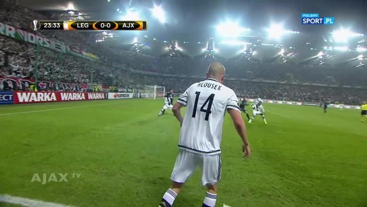 Legia Warszawa - Ajax Amsterdam 0:0. Skrót meczu
