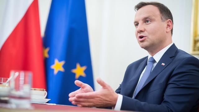 Andrzej Duda rozpoczyna prezydenturę