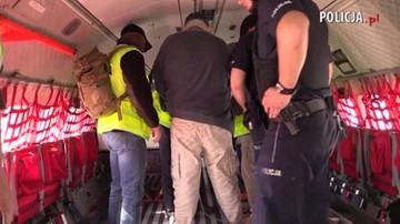 Podejrzany o zabójstwo Iwony Cygan w Polsce. Policja pokazała nagranie z ekstradycji