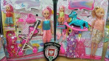 W główkach lalek wykryto niebezpieczną substancję. Celnicy skonfiskowali toksyczne zabawki z Chin