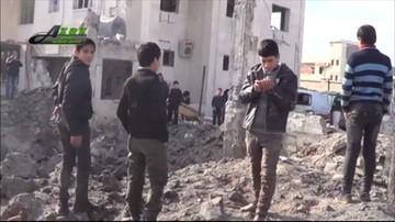 15-02-2016 14:53 Naloty rosyjskiego lotnictwa w Syrii. Zniszczono dwa szpitale