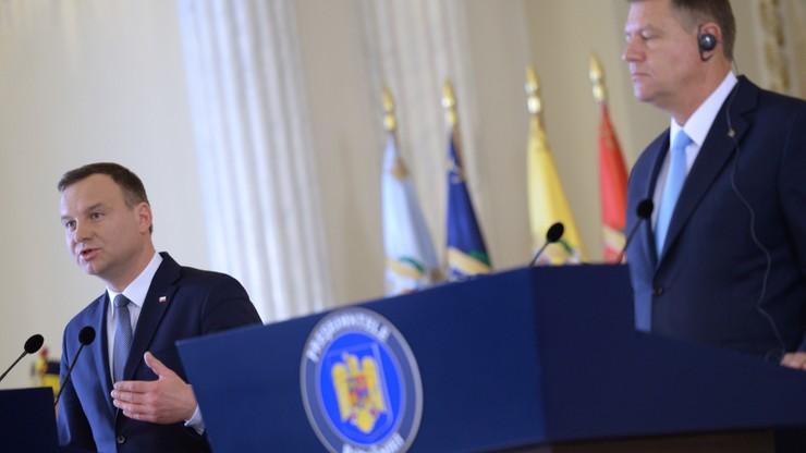 Andrzej Duda spotkał się z prezydentem Rumunii