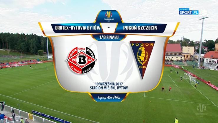 Drutex-Bytovia - Pogoń Szczecin 0:0 (rz.k. 5:4). Skrót meczu