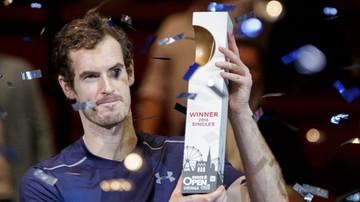 2016-10-30 ATP w Wiedniu: triumf Murraya w trzeciej imprezie z rzędu